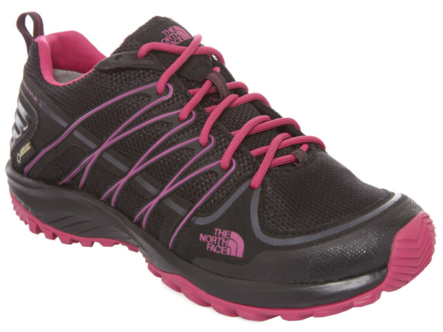 The North Face Litewave Explore GTX Shoes Women tnf black/fuschia pink